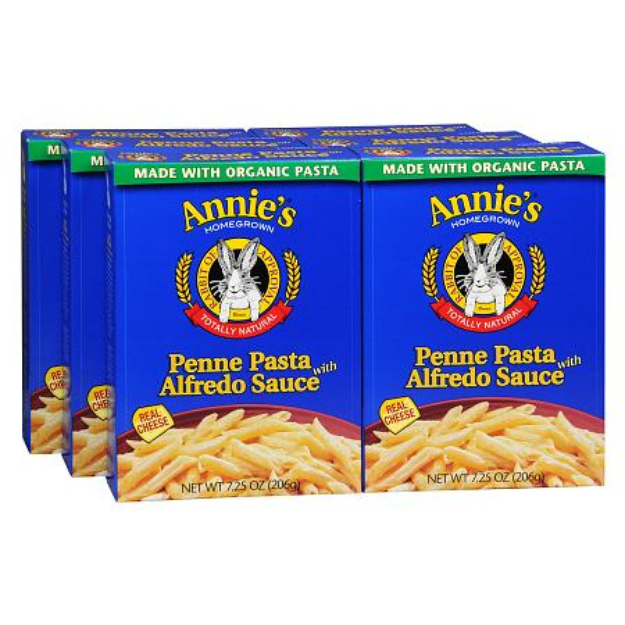 Annie's® Homegrown  penne Pasta alfredo sauce Meal
