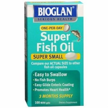 Emerson Healthcare Bioglan Super Fish Oil, Concentrated, Mini Gels, 100 ct