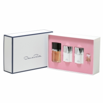 Oscar De La Renta Gift Set for Women, 4 Piece, 1 set