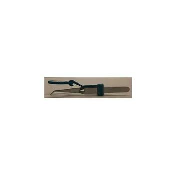 Miracle Point RBT Reverse Bent Tweezers with Magnifier - Set of 2