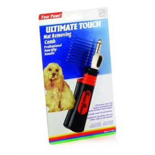 Four Paws Ultimate Touch Professional Dog Grooming Mat Removing Comb