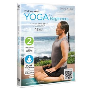 Gaiam Rodney Yee's Yoga For Beginners DVD, 1 ea