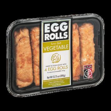 Van Egg Rolls Vegetable - 4 CT