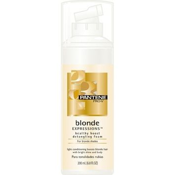 Pantene Pro-V Blonde Expressions Healthy Boost Detangling Foam for Blonde Shades