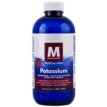Mineralife Liquid Ionic Potassium (8 Oz - 48 Day Supply)