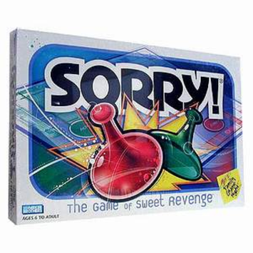 Slide: Hasbro Sorry