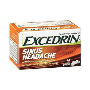 ESH24C Exedrin Sinus Headache - 24 Caplets