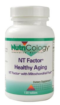 Nutricology/allergy Research Nutricology - NT Factor Healthy Aging - 120 Tablets