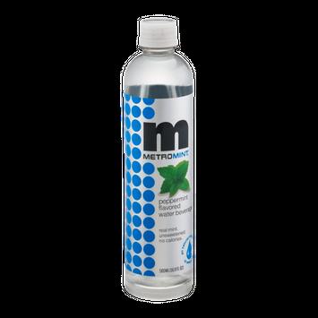 Metromint Water Beverage Peppermint Flavored