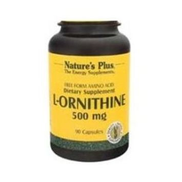 Nature's Plus - L-Ornithine, 500 mg, 90 capsules [Health and Beauty]