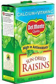 Del Monte® Sun-Dried Raisins