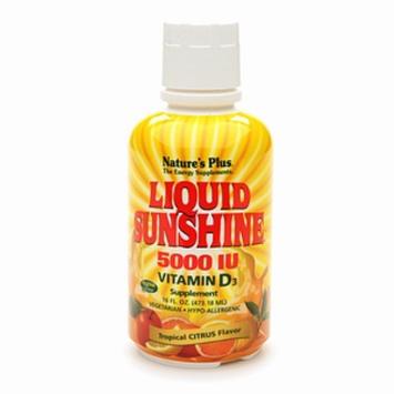 Nature's Plus Liquid Sunshine 5000 IU Vitamin D3