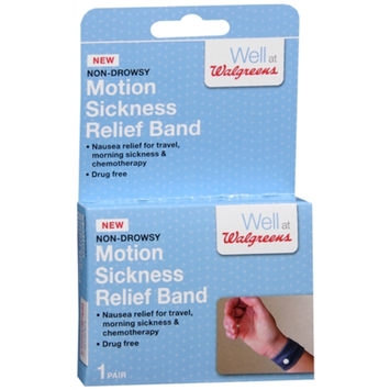 Walgreens Motion Sickness Relief Band, 1 pr