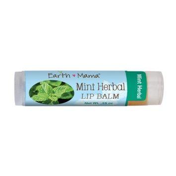 Earth Mama Angel Baby Mint Herbal Lip Balm 7 g. (.25 oz)