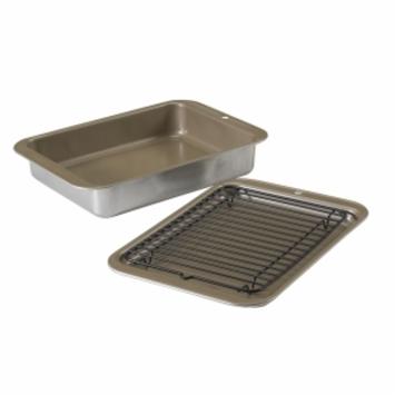 Nordic Ware 3pc Compact Ovenware Set, Metallic, 1 ea