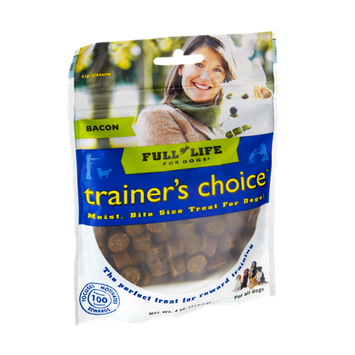 Full Life For Dogs Trainer's Choice Bacon Bite Size Treats