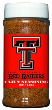 Texas Tech Red Raiders Cajun Seasoning Hot Sauce Harry's