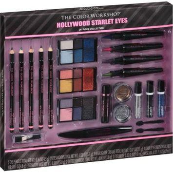 The Color Workshop Hollywood Starlet Eyes Gift Set, 34 pc