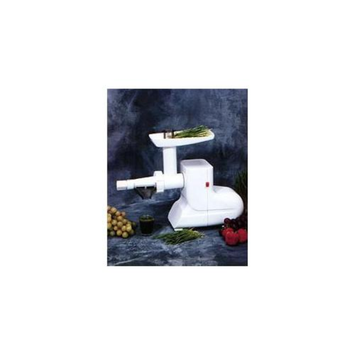 Miracle Exclusives MJ550 Electric Wheatgrass Juicer - White