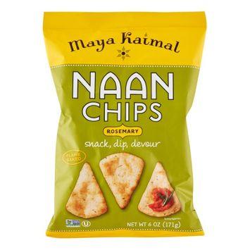 Maya Kaimal NAAN CHIPS, ROSEMARY, (Pack of 12)