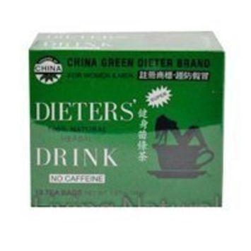 China Green Dieters Tea -- Dieters Tea For Wt Loss 12 Ct