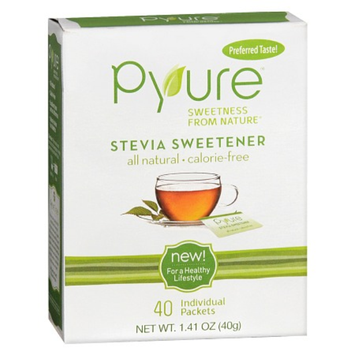 Pyure Stevia Sweetener Packets