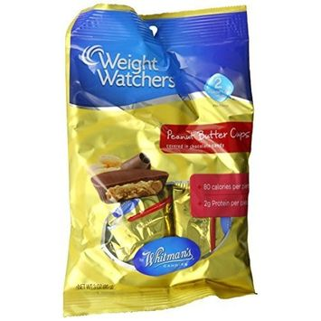 Russell Stover Whitman's Peanut Butter Cup Peg Bag, 3-Ounce (Pack of 6)