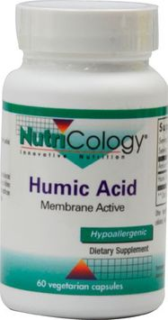 Nutricology - Humic Acid 750 mg. - 60 Vegetarian Capsules
