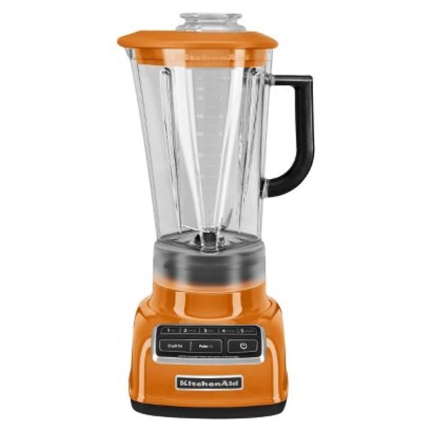 KitchenAid 5-Speed Diamond Blender- Tangerine KSB1575