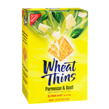 Nabisco Wheat Thins Parmesan & Basil Snacks