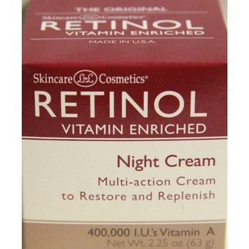 Skincare LdeL Cosmetics Retinol Vitamin Enriched Night Cream 2.25 ounces