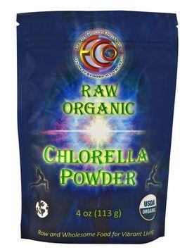 Earth Circle Organics Chlorella Powder 4 Oz.