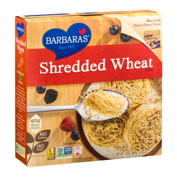 Barbara's Shredded Wheat Cereal Reviews 2020