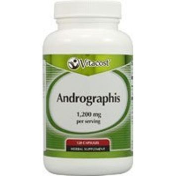 Nutraceutical Sciences Institute  NSI Vitacost Andrographis -- 1,200 mg per serving - 120 Capsules