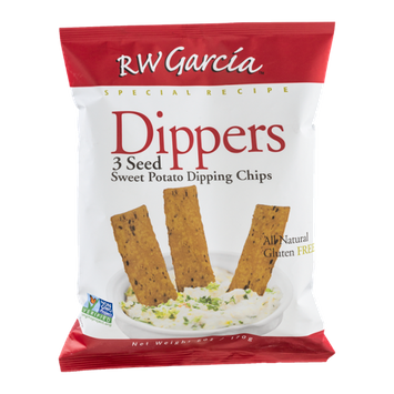 RW Garcia Dippers 3 Seed Sweet Potato Dipping Chips Gluten Free