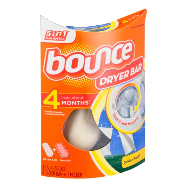 Bounce Outdoor Fresh Dryer Bar Fabric Softener Bar