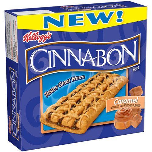 Kellogg's Cinnabon Caramel Bars, 7.8 Oz