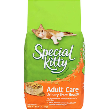 Special Kitty Adult Care Urinary Tract Health Dry Cat Food, 6-Pound