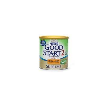 Nestlé Good Start Supreme DHA & ARA Soy Soy Infant Formula with Iron, Powder 12.9 Oz (6 Pack)