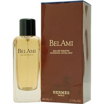 Hermes Bel Ami Cologne Eau de Toilette for Men, 3.4 fl oz