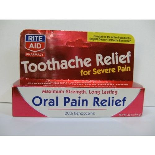 Rite Aid Toothache Pain Relief, 0.33 oz
