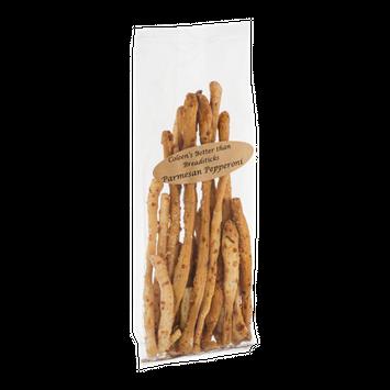 Coleen's Better Than Breadsticks Parmesan Pepperoni