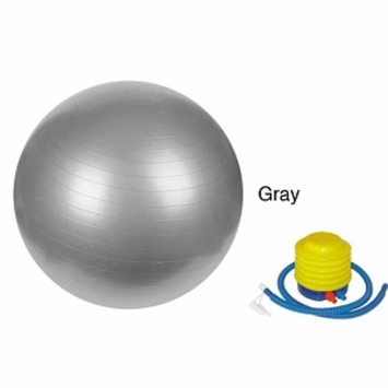 Sivan Health And Fitness 75cm Anti-burst gym ball, Grey, 1 ea