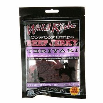 Wild Ride Cowboy Strips, Teriyaki, 3.25 oz
