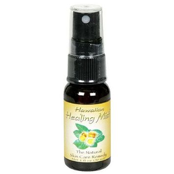 Bioponic Phytoceuticals Hawaiian Healing Mist, Natural Skin Care Remedy, 1-Ounce Bottles (Pack of 2)