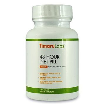 48 Hour Diet Pill Natural Weight Loss Formula and Detox