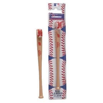 Pursonic Officially Licensed MLB Baseball Bat Team Toothbrushes - St.