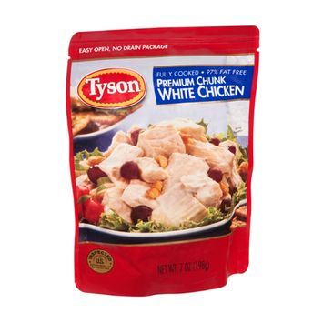 Tyson White Chicken Premium Chunk Fully Cooked