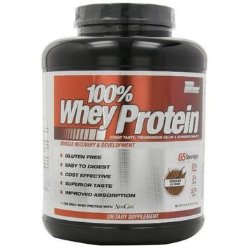 Top Secret Nutrition 100% Whey Protein Powder, Chocolate, 5 lbs.