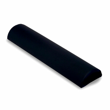 Earthlite Half Round Massage Bolster - Black